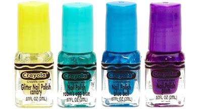 Crayola nail set 1