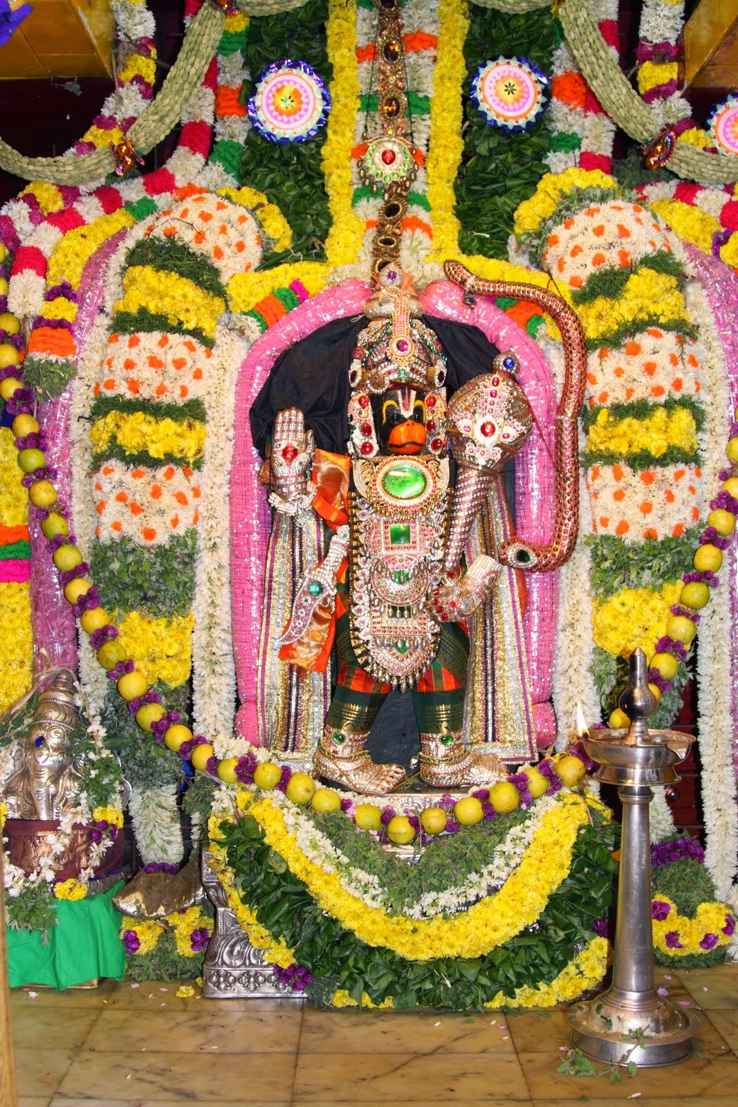 getwell anjaneya temple tirunelveli