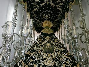 Manto Virgen de la Soledad