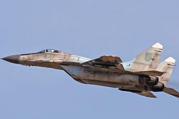 Pemberontak Pro Rusia Tembak Jatuh Jet Pejuang Ukraine