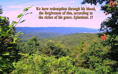 Scenic Wallpaper With Bible Verse