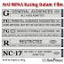 Arti MPAA Rating Dalam Film di Bioskop