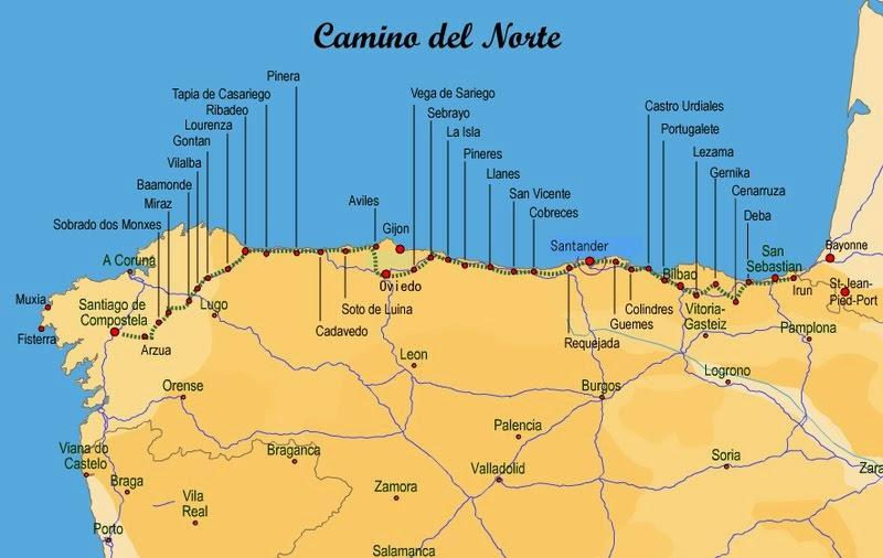 Kay and Fuzz Camino del Norte 2015