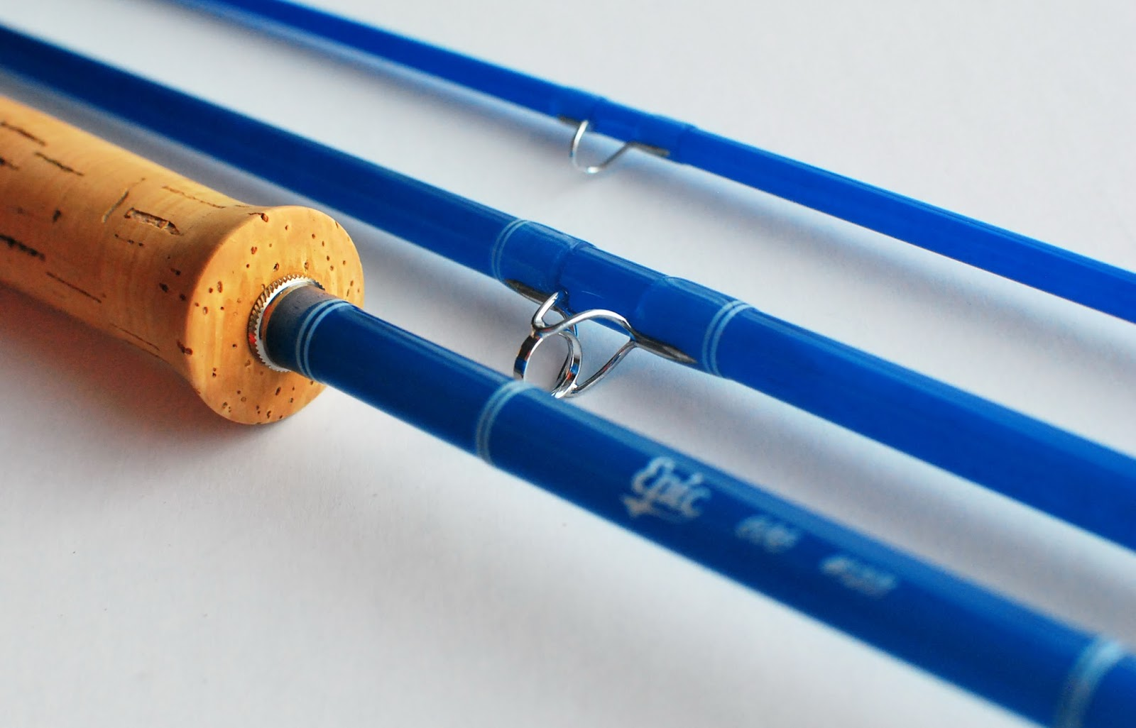 Handcrafted graphite and fiberglass fly rods swift epic for Halo fishing rods