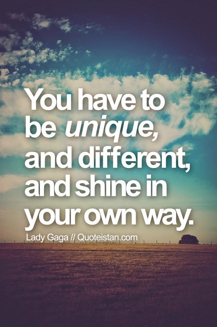Being Different And Unique Quotes. QuotesGram