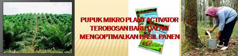 PUPUK MIKRO PLANT ACTIVATOR
