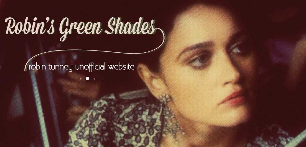 Robin's Green Shades- Robin Tunney Unofficial website