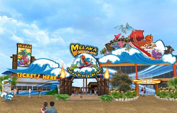 Melaka Wonderland Theme Park Resort Di Ayer Keroh