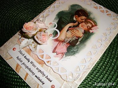 Kolejna karteczka ślubna