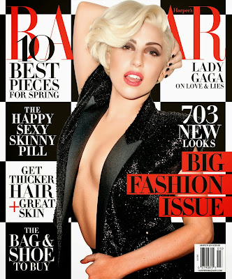 Lady Gaga HQ Pictures Harper's Bazaar US Magazine Photoshoot March 2014