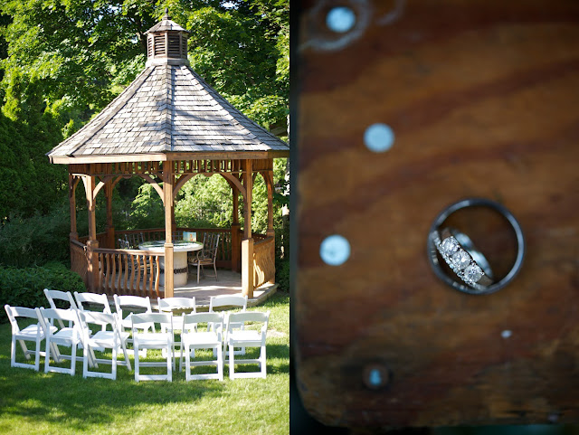 surprise backyard wedding oakville