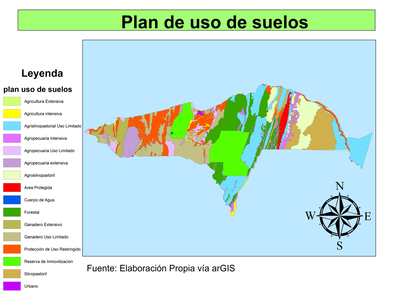 Am rica latina tierra de conflictos territoriales for 4 usos del suelo en colombia