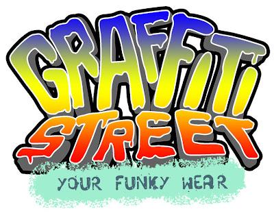Graffiti logo street