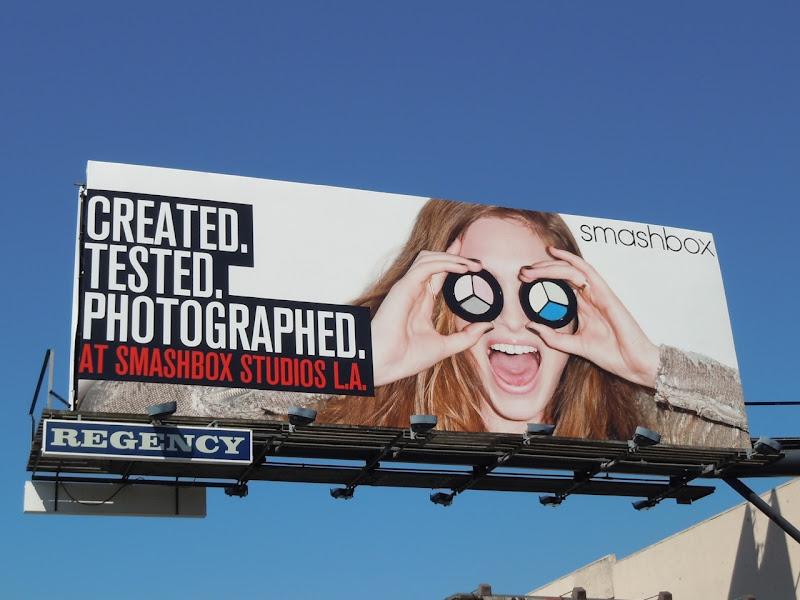 Smashbox Studios LA billboard