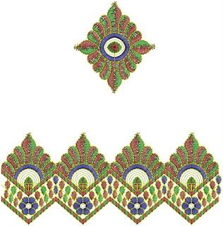 lace border designs 2012