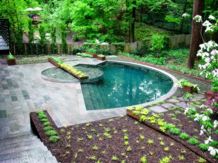 Plant Outdoor Pool