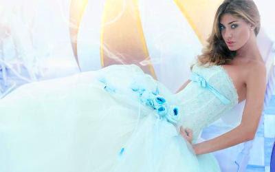 Belen Rodriguez abito da sposa