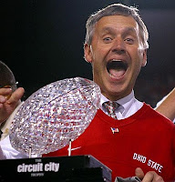 Chris Speilman thinks Jim Tressel won't be coaching Ohio State in 2011 season.
