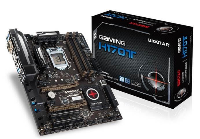 BIOSTAR Gaming H170T Mainboard