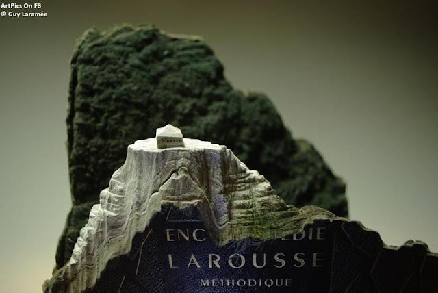 © Guy Laramée  photography  Books Sculpture