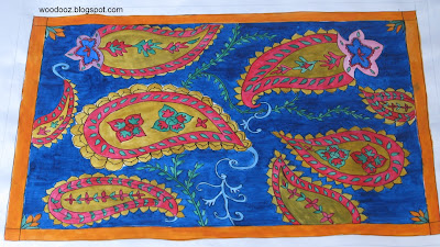 Paisley Pattern Painting