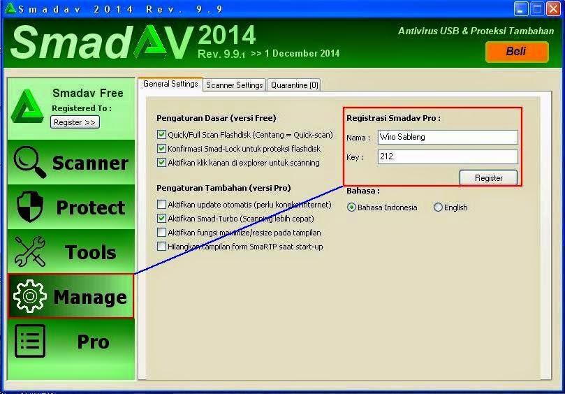 Cara Mengubah Smadav Free menjadi Smadav Pro