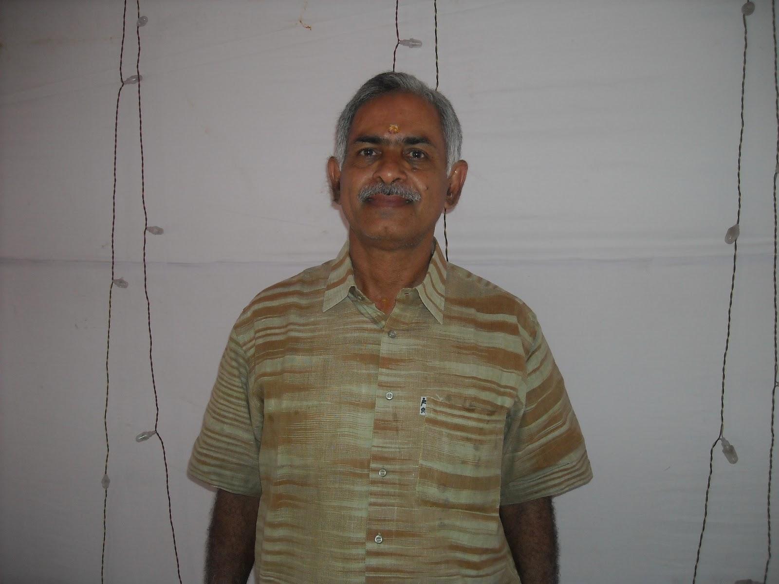 Says N Venkita Krishnan Potty, A Proponent Of Nature Foods
