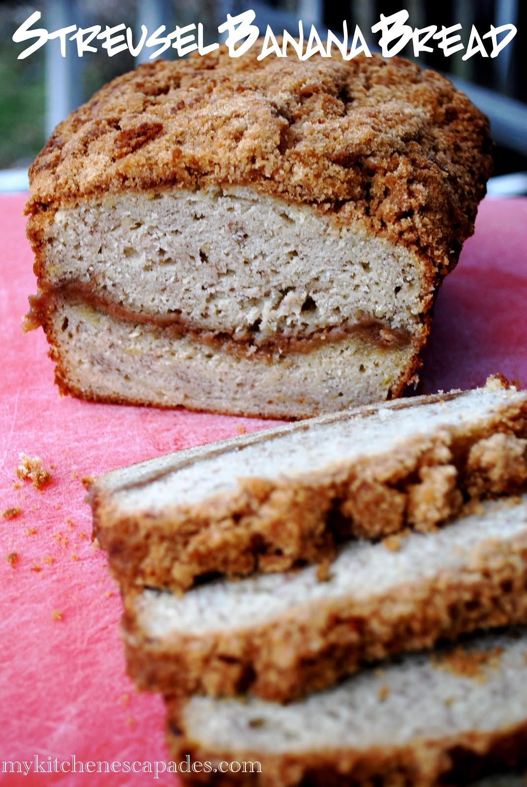 Streusel banana bread streusel banana bread forumfinder Choice Image