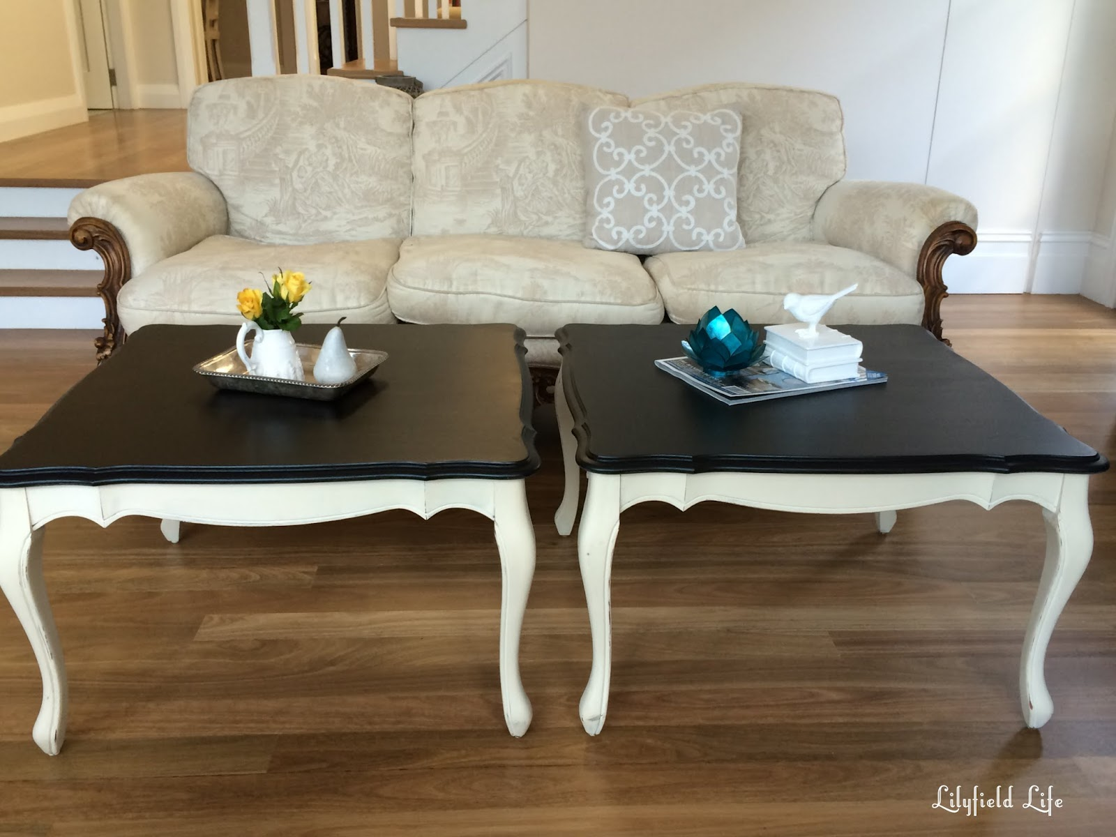 Lilyfield Life A pair of French style coffee tables