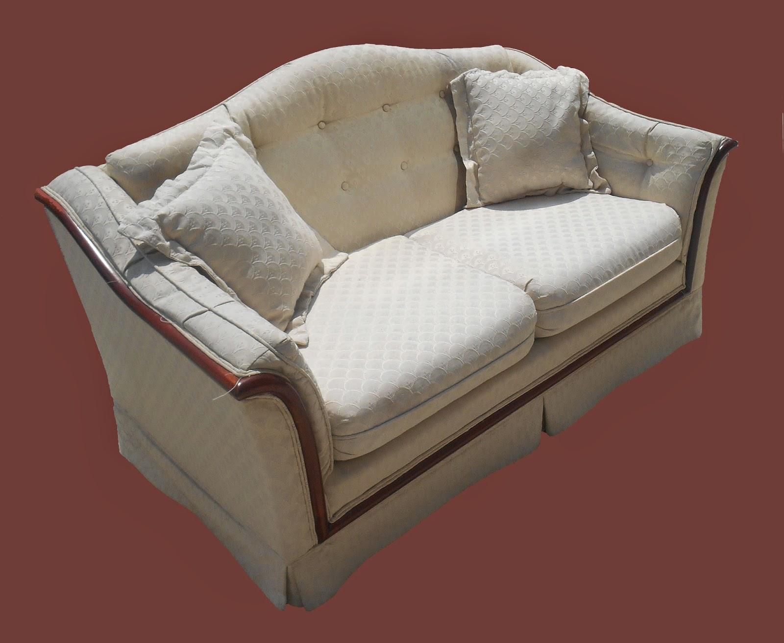 Uhuru Furniture Collectibles Matching Camel Back Sofa
