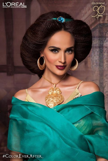 Mehreen Syed Photoshoot for Loreal Paris #ColorEverAfter‬