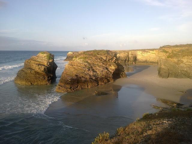 Playa de las Catedrales en Ribadeo