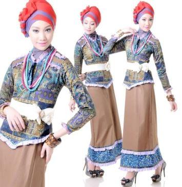 Memilih Model Baju Batik Pesta Yang Elegan