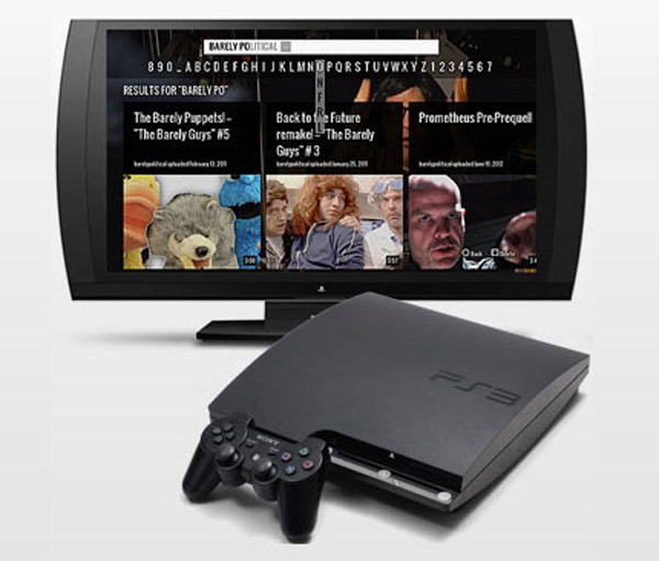 YouTube lanza aplicacion para Playstation 3