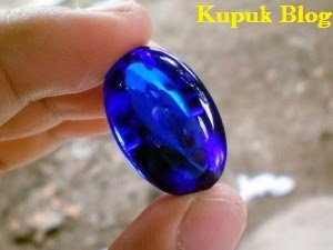 Batu Akik Permata Blue Safir