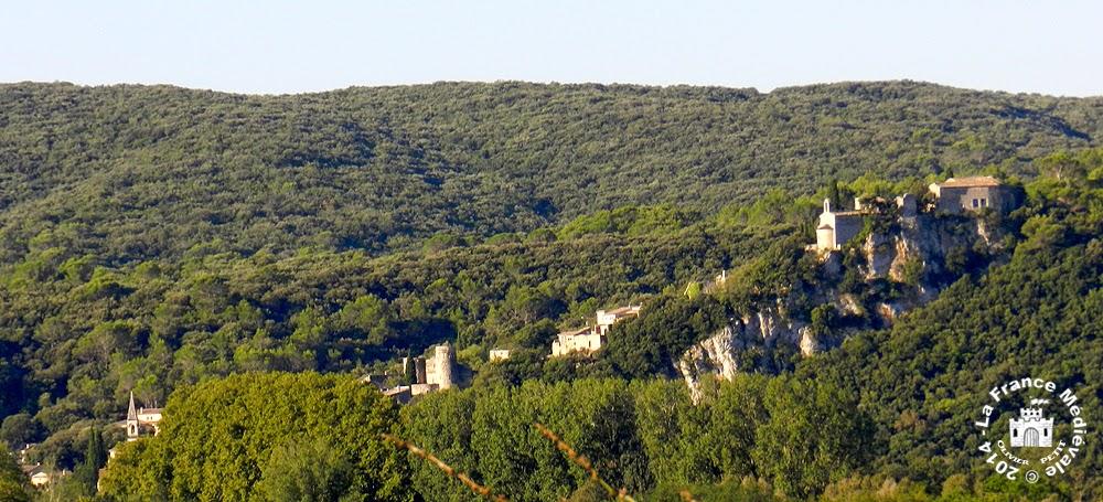 LA ROQUE-SUR-CEZE (30) - Chapelle romane