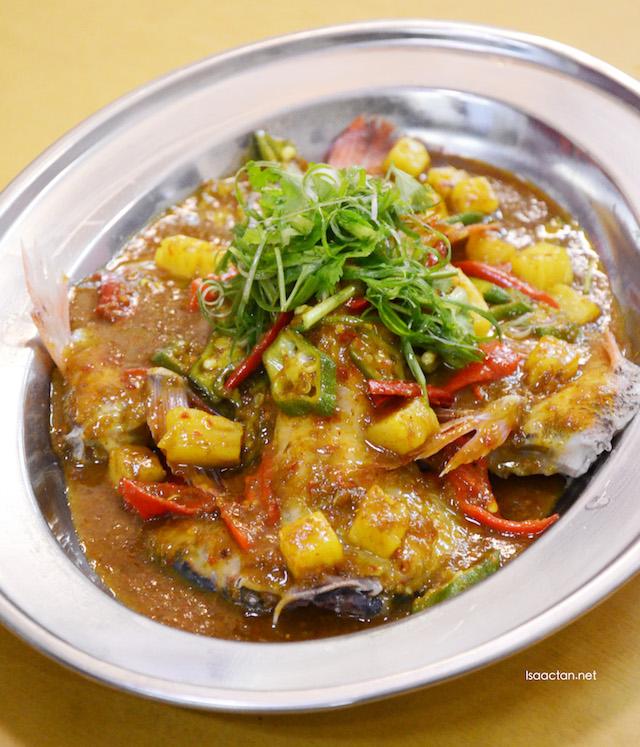 Melaka Nyonya Steamed Fish - RM12.80