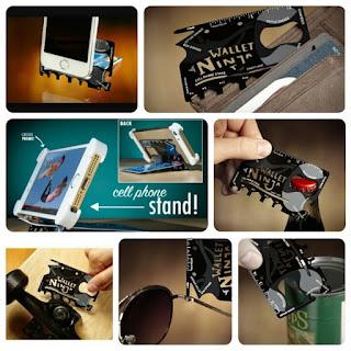 Wallet Ninja / Alat kecil Multifungsi  18 in 1