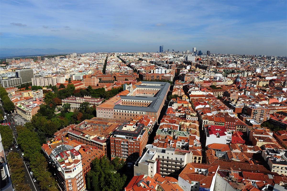 El metronauta vistas desde el cielo de madrid - El cielo de madrid ...