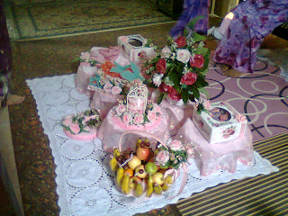 Hantaran From Soft Pink