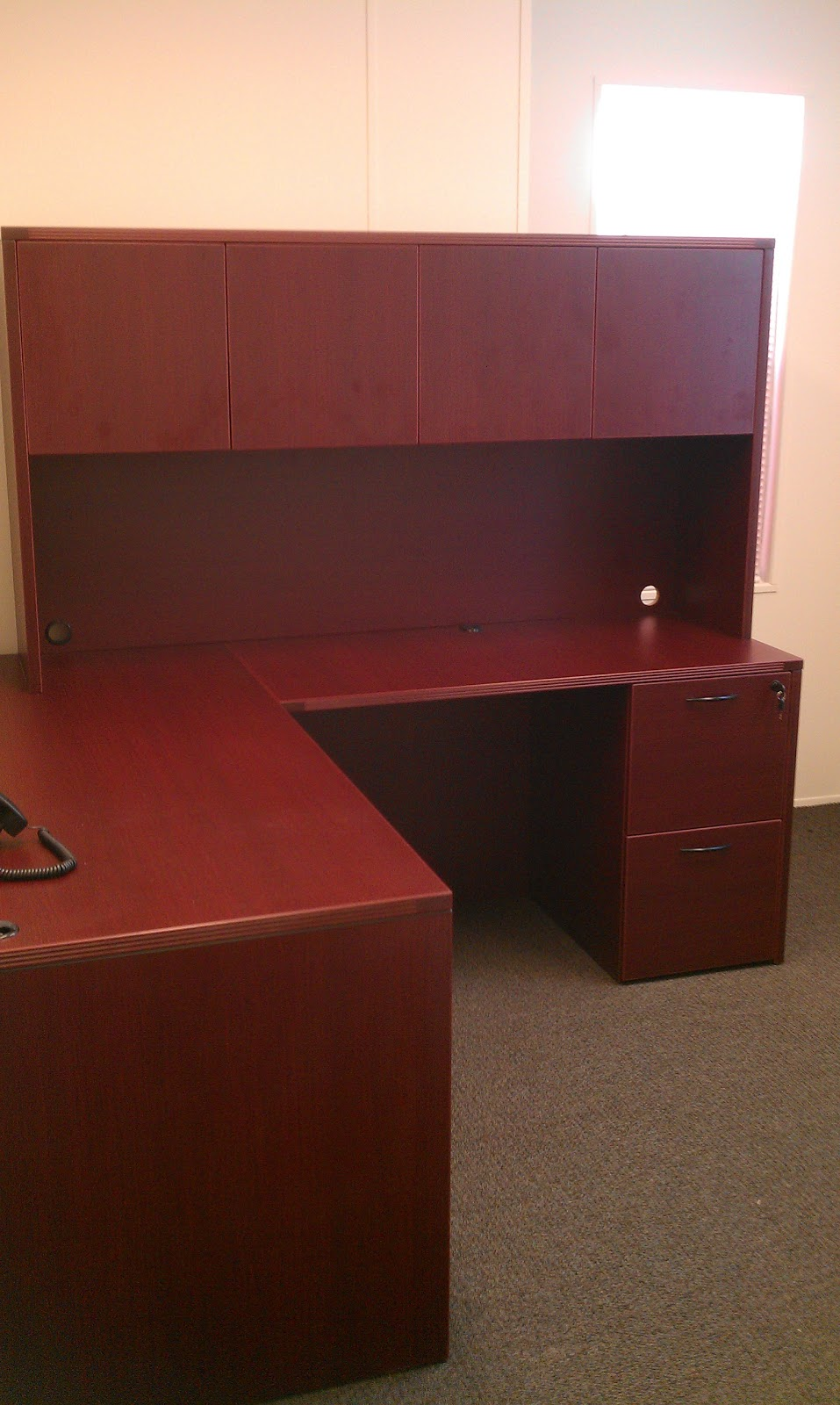 1source Office Furniture Office Furniture Baltimore Cherryman Amber L Shaped Desk Install