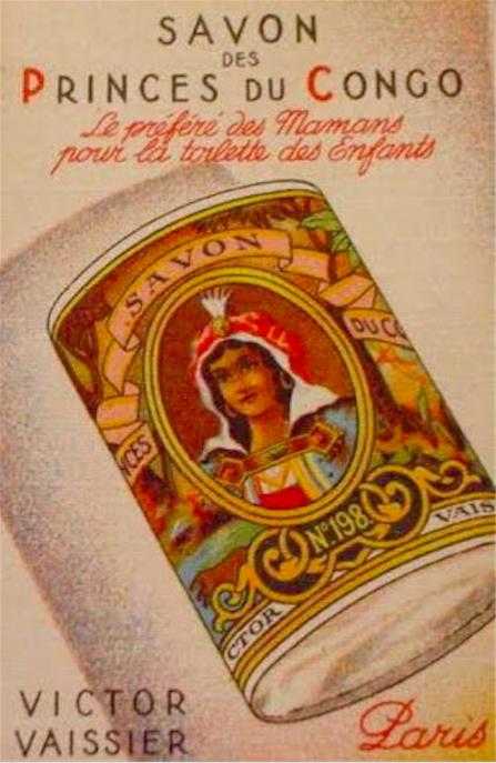 Publicité pour le savon des princes du Congo Victor Vaissier n° 198