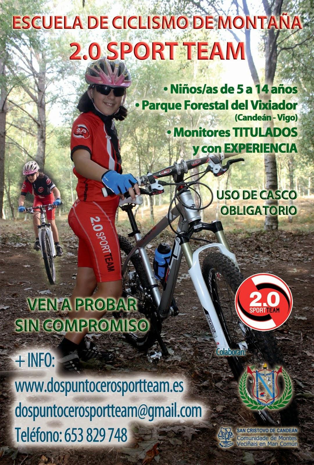 Flyer Escuela de ciclismo 2014