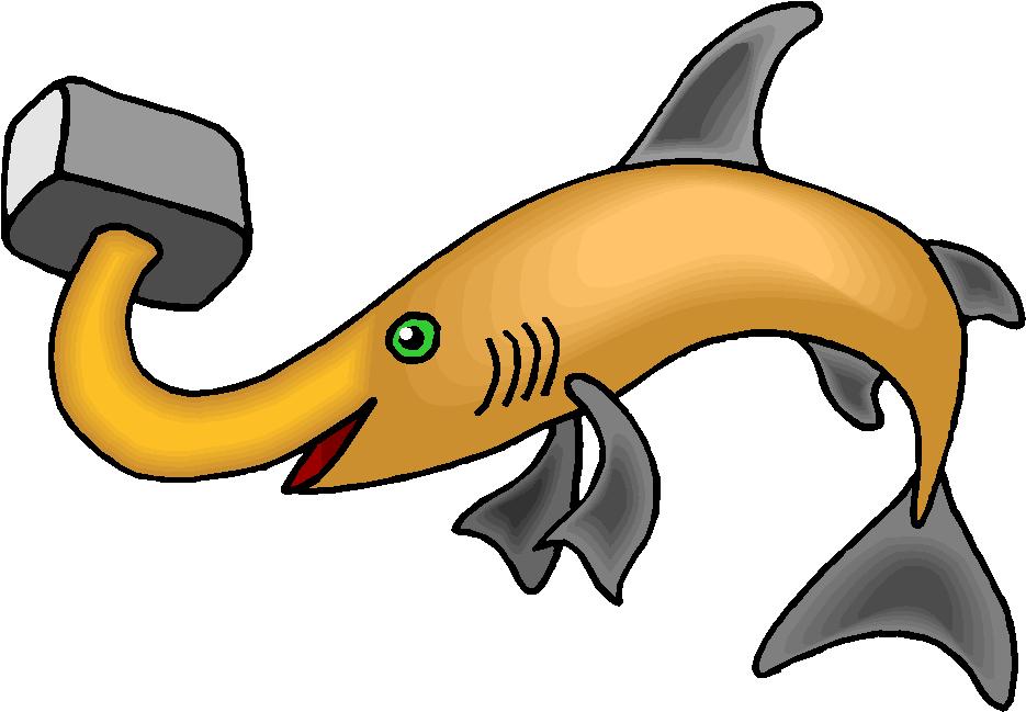 Fantasy Hammer Shark Free Clipart
