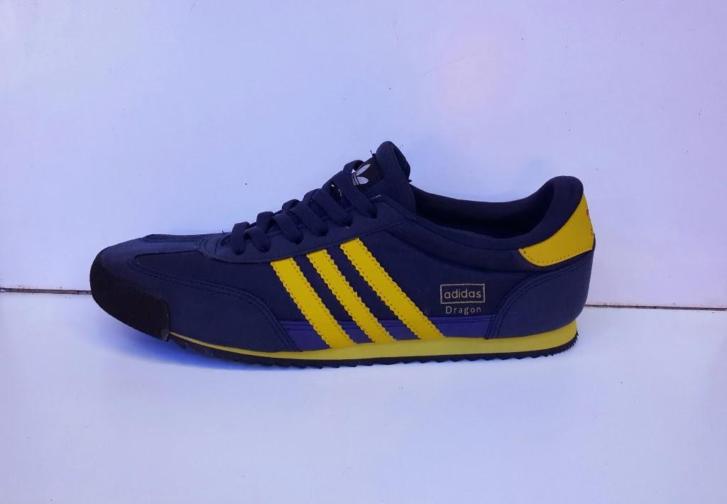 sepatu Adidas Dragon biru nevy