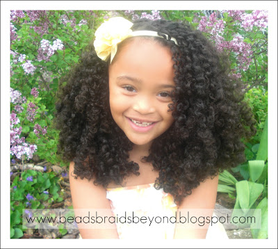 ... and Beyond: Easter Hairstyles for Little Girls with Natural Hair