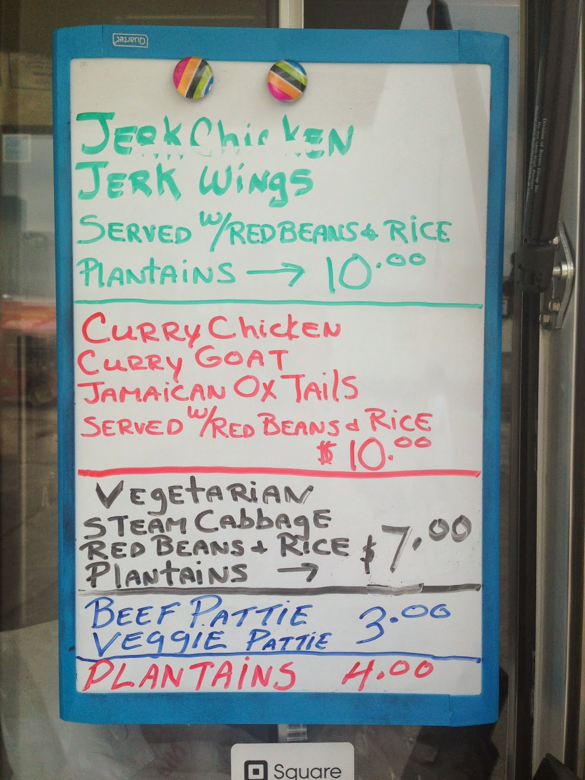 Binghiman Jerk, Food Truck Houston TX Menu