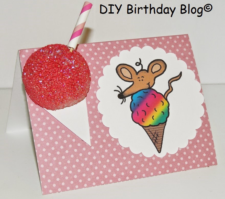 DIY Birthday Blog: DIY Birthday Food Cards