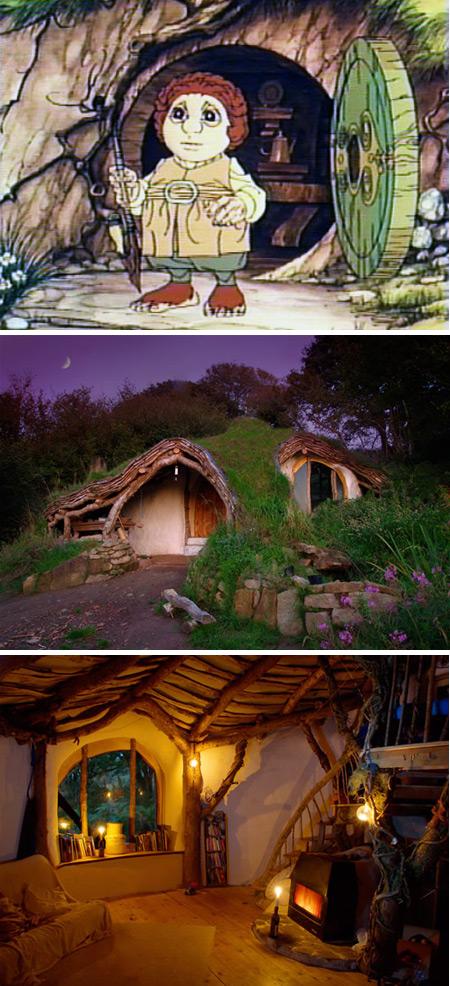 10 casas reales inspiradas en dibujos animados   Rincón Abstracto