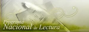 SITIO WEB DEL PROGRAMA NACIONAL DE LECTURA